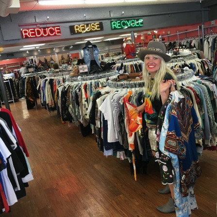 Vintage shopping at Buffalo Exchange!