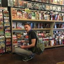 My love, buying comics!