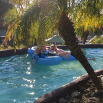 The Lazy River at The Pointe Hilton Resort